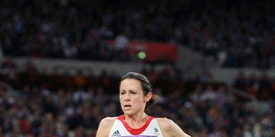 Jo Pavey at the 2012 Olympics