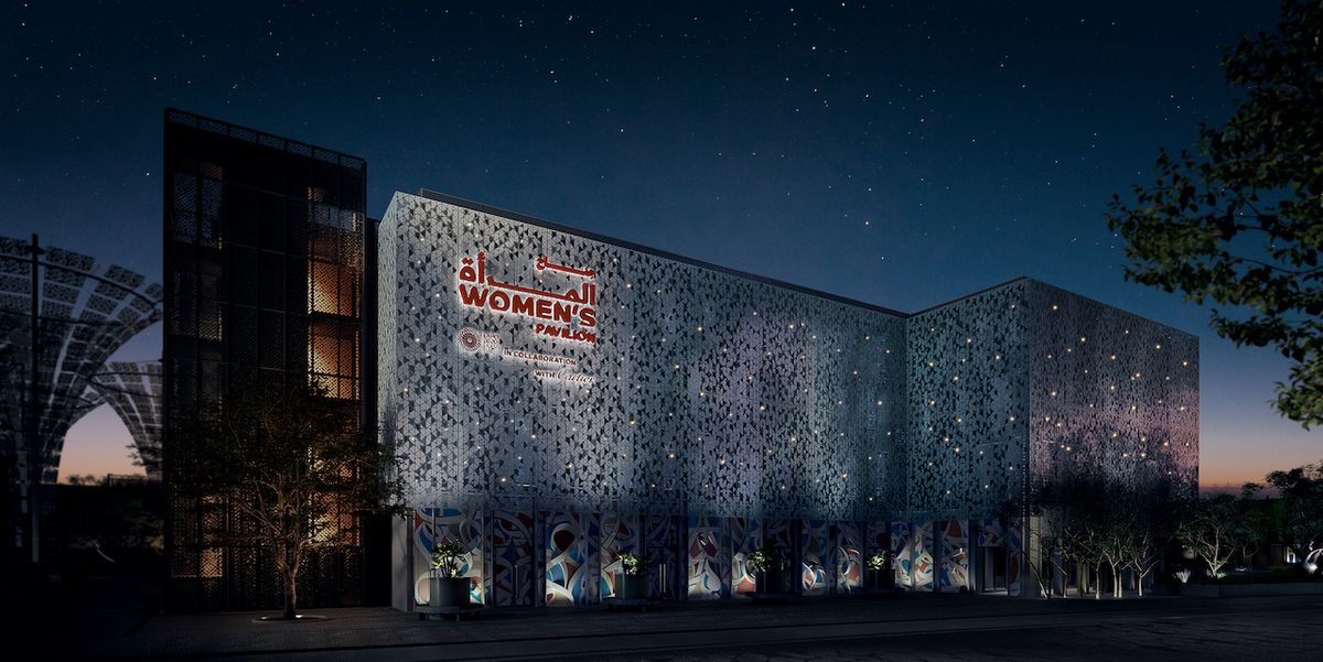 Cartier Stands Up For Women at the Expo 2020 in Dubai