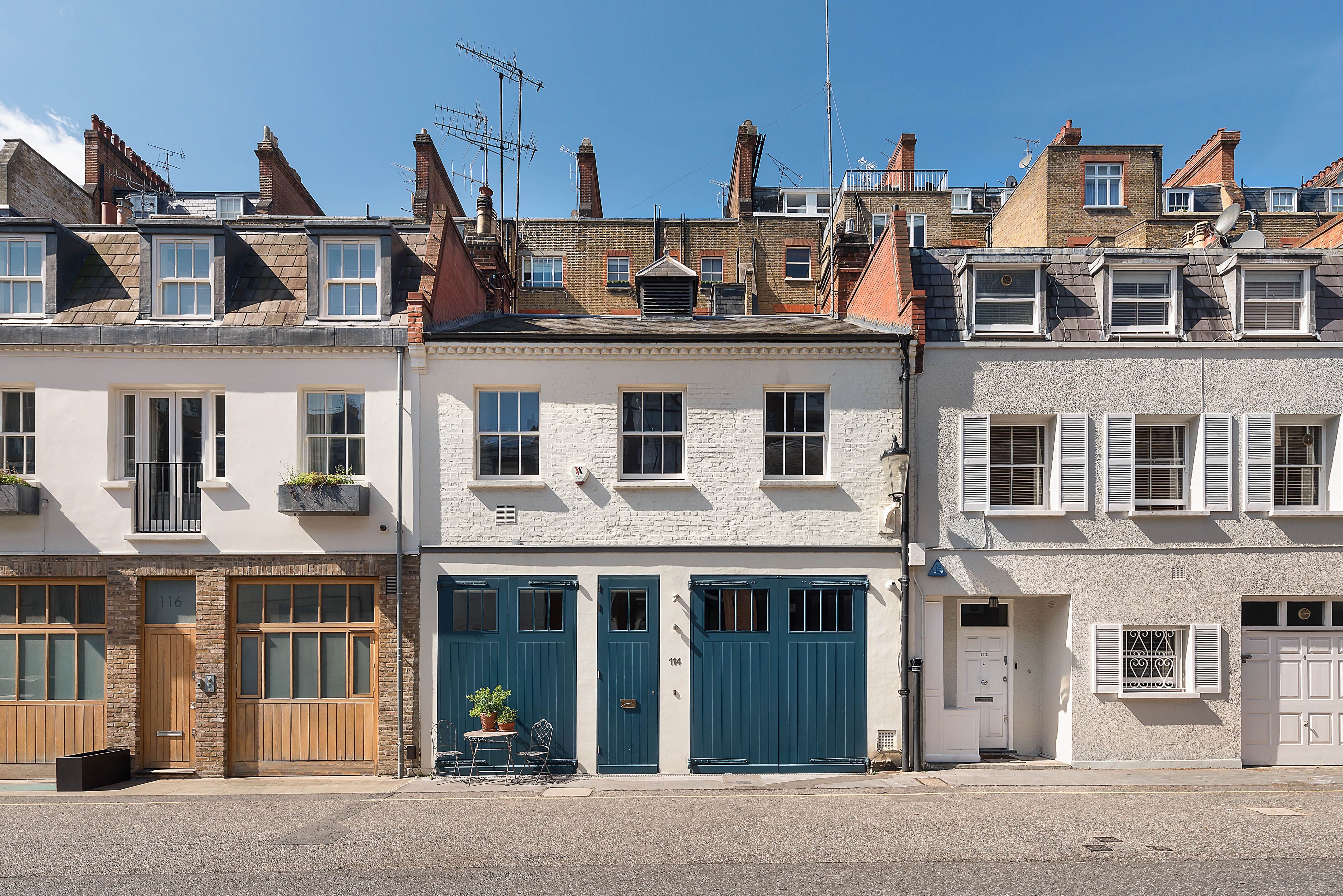 Sir Terence Conran's contemporary mews house is for sale in Knightsbridge