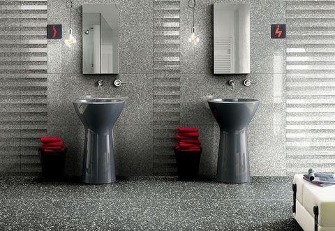 Pavimenti bagno: novità e tendenze 2018
