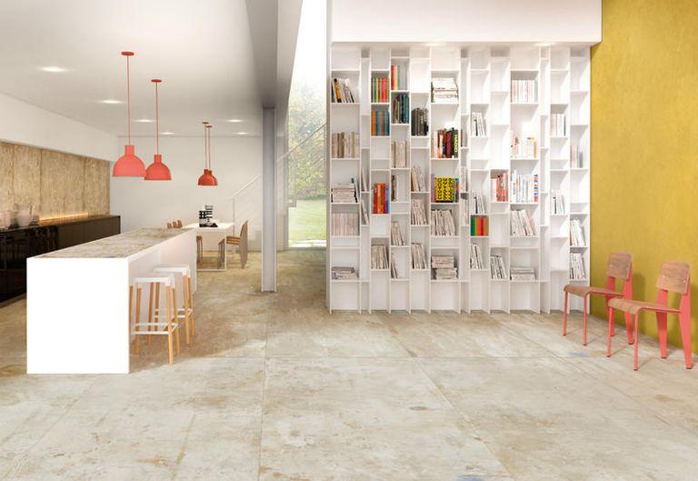 Pavimenti e rivestimenti bagno, cucina e soggiorno ispirati all\'arte