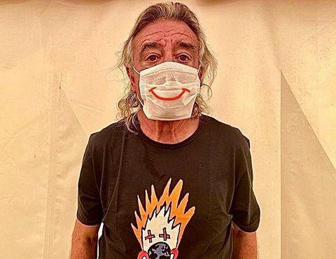El clown Tortell Poltron es uno de los abanderados de la campaña Pandemia de Sonrisas durante el Coronavirus para Payasos sin Fronteras.