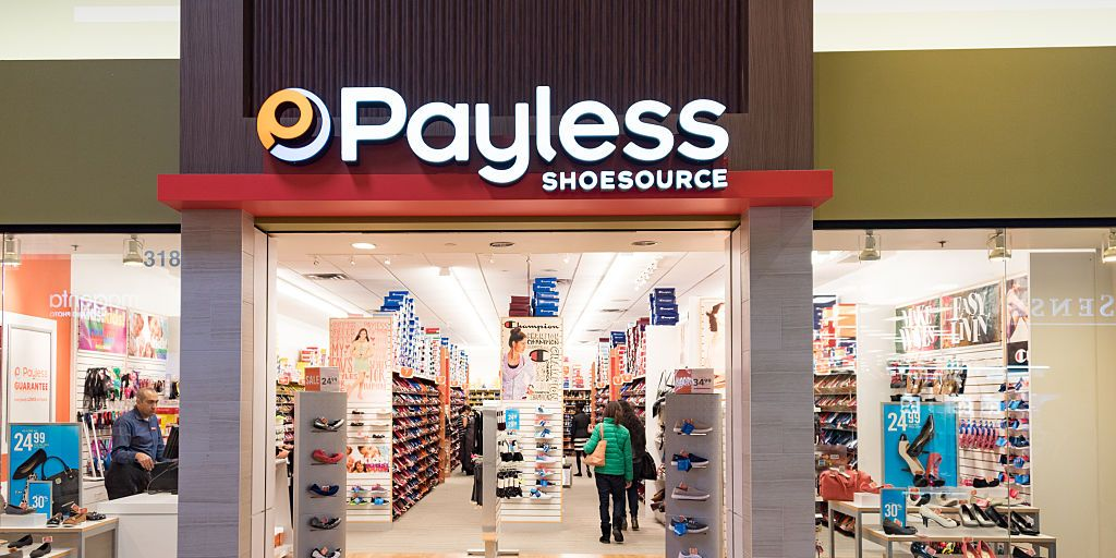 Payless Just Announced It's Closing All U.S. Stores for Good