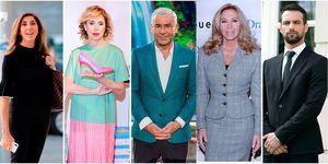 Paz Padilla, Ágatha Ruiz de la Prada, Jorge Javier Vázquez, Norma Duval y Jesús Castro