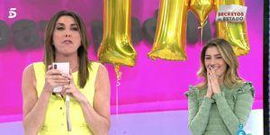 Paz Padilla y Anna Ferrer Padilla en sálvame