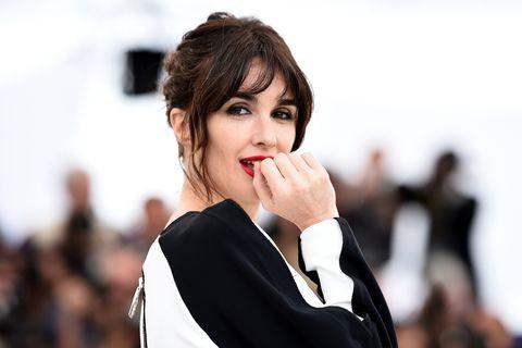 Paz Vega en Cannes presentando Rambo V.