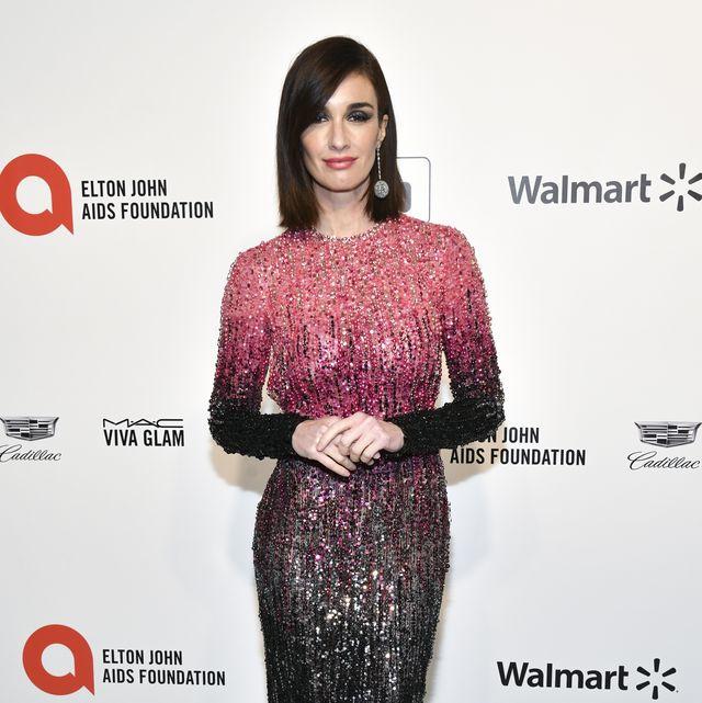 Paz Vega en la fiesta de Elton John tras los Oscar 2020