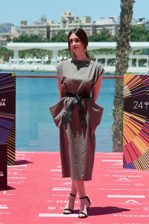 paz vega con vestido de inés domecq de the iq collection