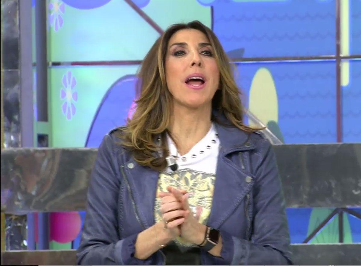 Terelu Campos le envía un emotivo mensaje a Paz Padilla en su reencuentro en 'Sálvame'