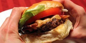 Peanut Butter Bacon Burgers Ravenous