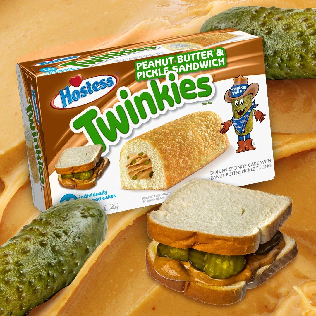 """People are Freaking Out Over Hostess Hintingat """"Peanut Butter and Pickle Sandwich"""" Twinkies"""