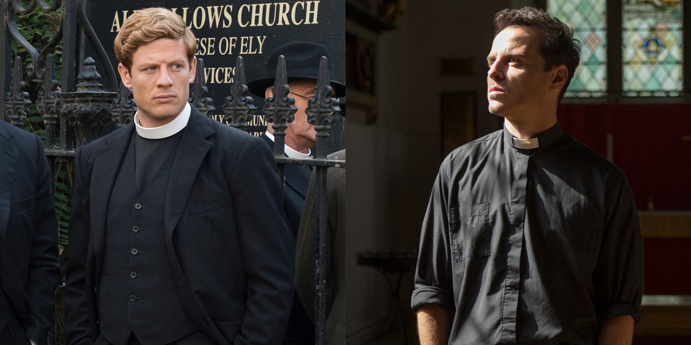 The Fleabag Priest Is Hot. But the Grantchester Priest on PBS Is Hotter.