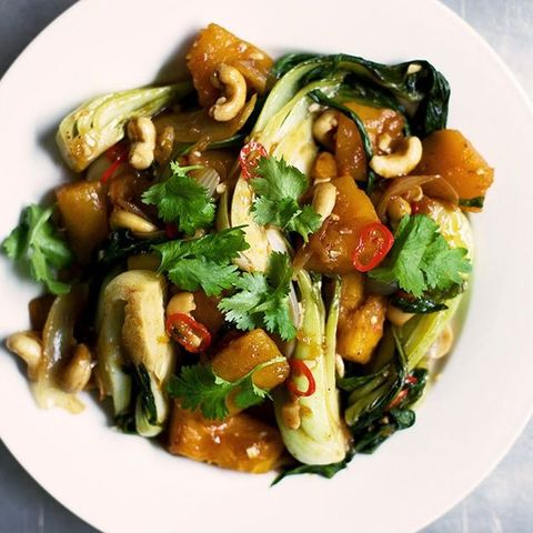 stir-fried pumpkin