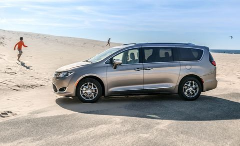 Chrysler Pacifica 2020 года
