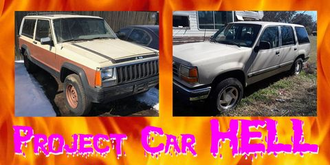 Project Car Hell, Early Commuter SUVs Edition