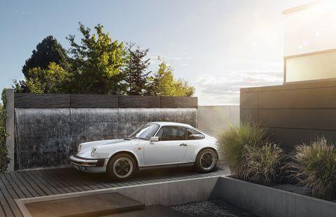 Land vehicle, Vehicle, Car, Regularity rally, Coupé, Automotive design, Sports car, Porsche 911 classic, Porsche, Porsche 930,
