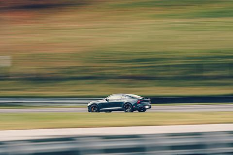 polestar 1 at road  track's performance car of the year tests