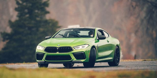 bmw m8 competition drift mode