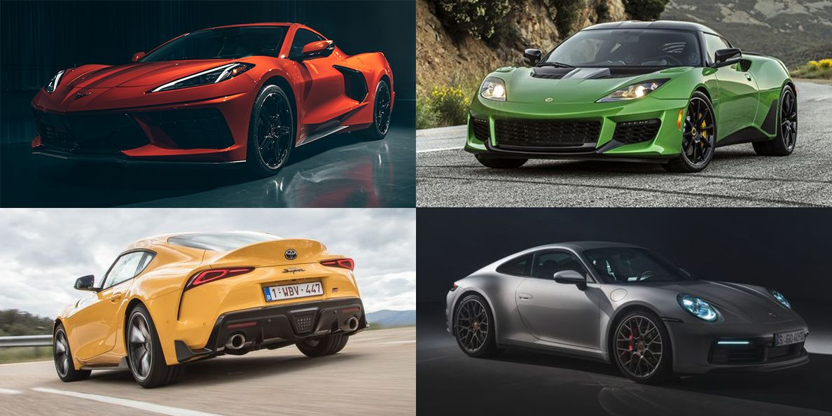 Road & Track 2020 Performance Car of the Year Contestant List