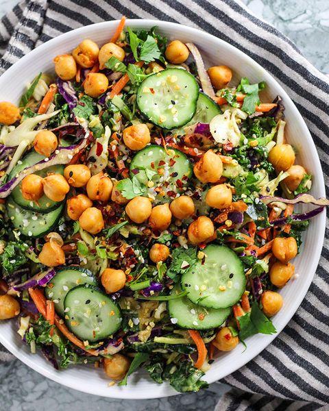 salade croquante aux arachides