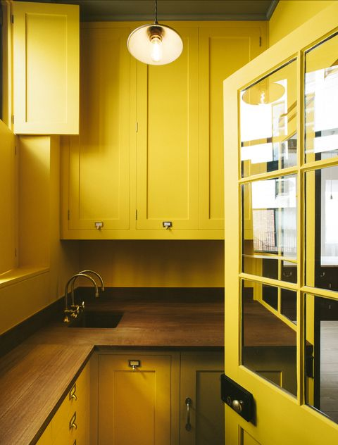kitchen by plain english in boiled egg yellow color