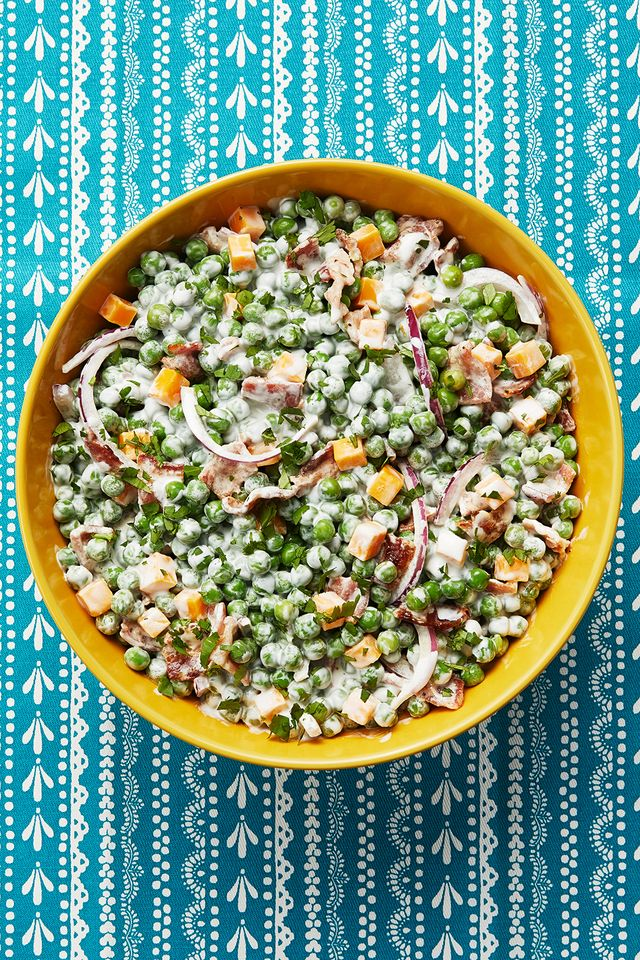Pea Salad Recipe With Sour Cream