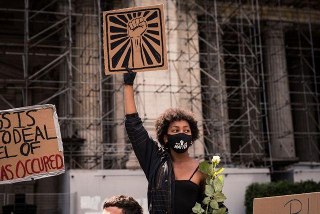 black lives matter protest in belgium