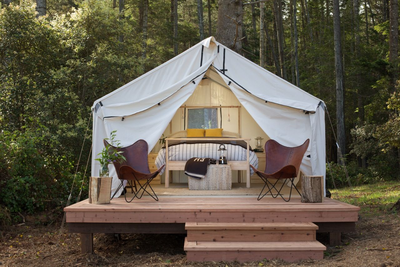 The 20 Best Places To Go Glamping In The U.S.