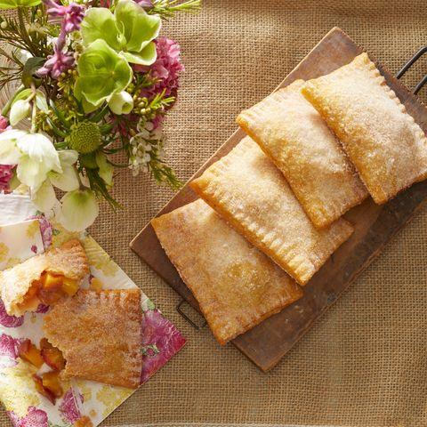 fried peach ginger hand pies