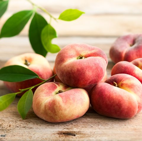 Donut Peach - Types of Peaches