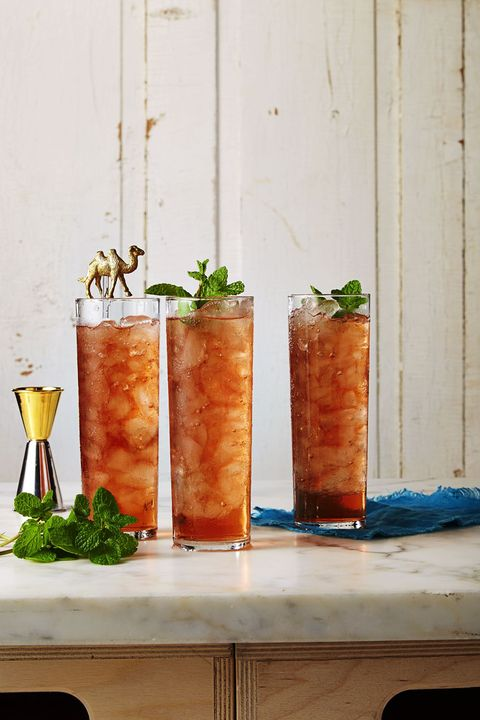 Fizzy Fruity Floats - Memorial Day Drinks