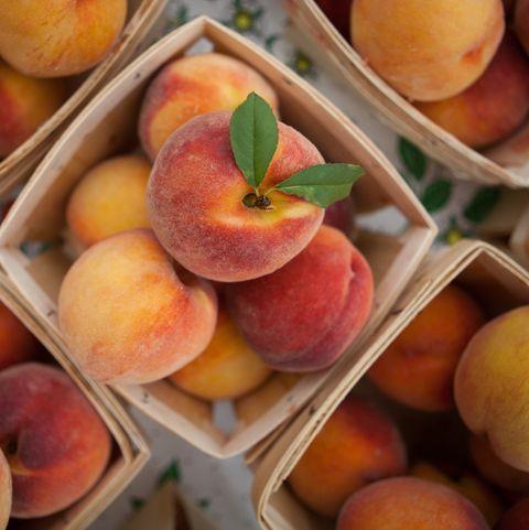 peaches by the quart