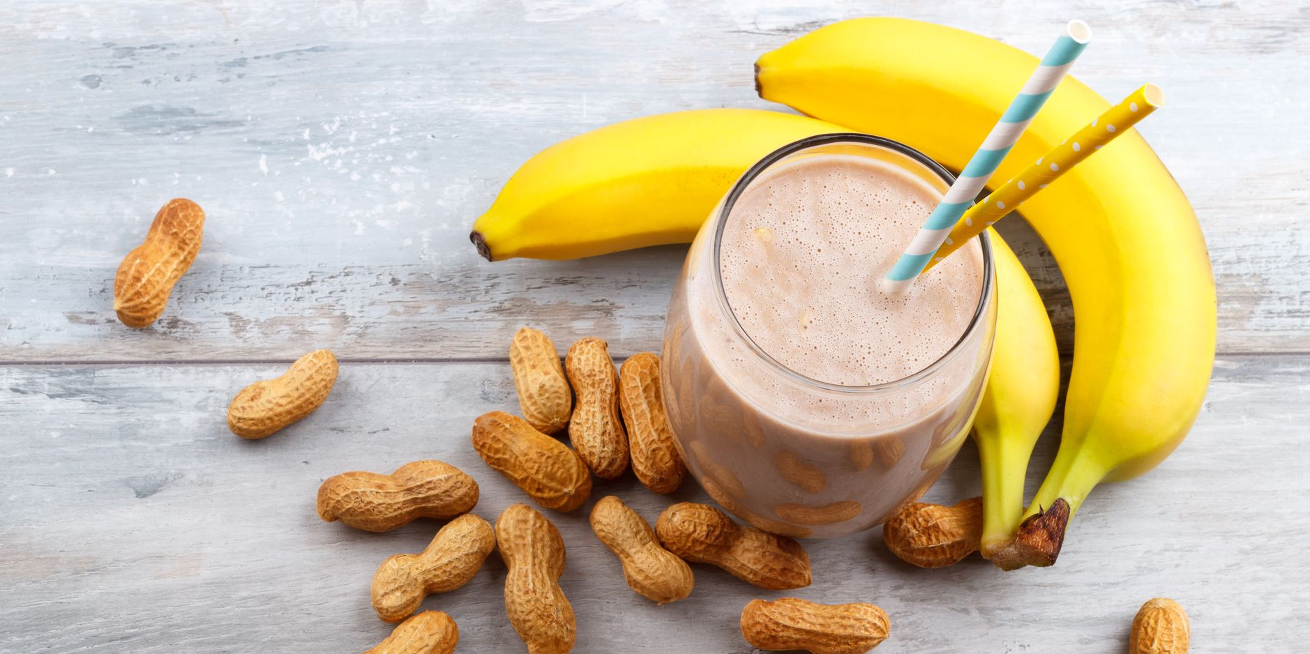Image result for Banana & Peanut Butter Smoothie