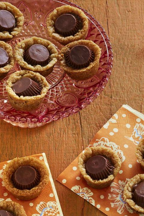 peanut butter cup cookies halloween cookies