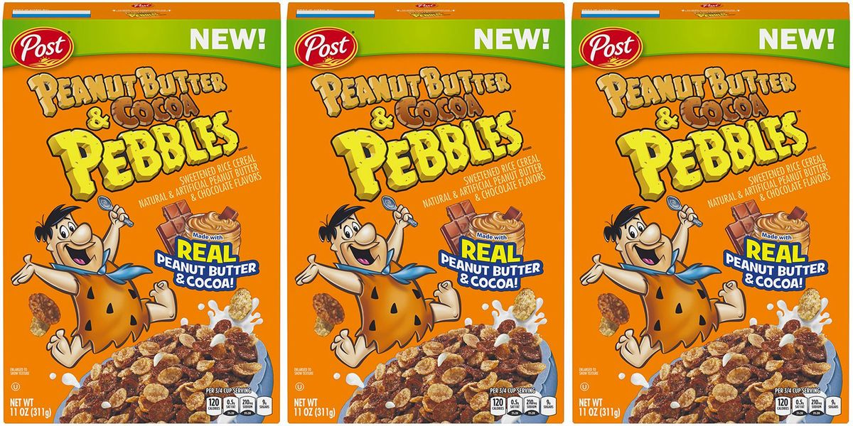 Peanut Butter Amp Cocoa Pebbles Cereal Now Exist New Post Cereal Flavors