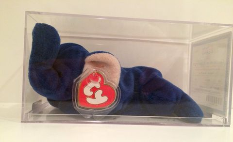 40 Most Valuable Toys - Peanut Blue Elephant Beanie Baby