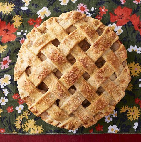 apple pear lattice pie
