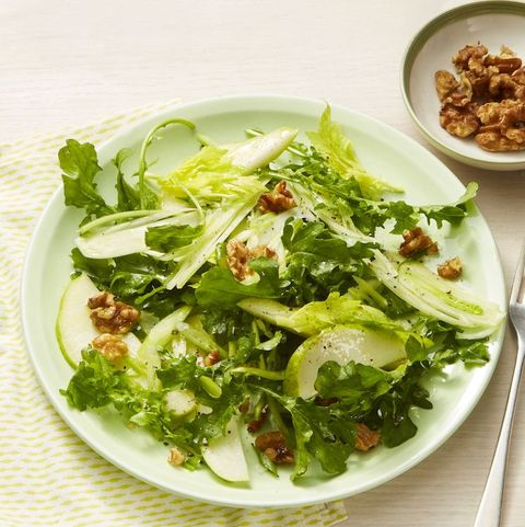 summer salads - Pear & Walnut Salad