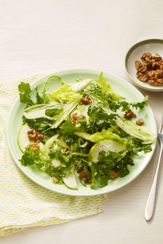 Heart Healthy Recipes - Pear & Walnut Salad