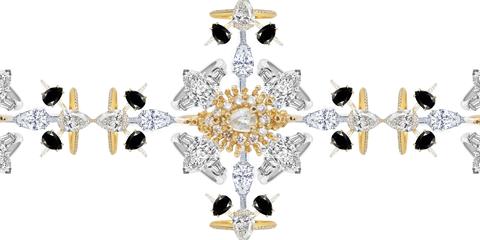 Jewellery, Fashion accessory, Lighting, Diamond, Ceiling fixture, Body jewelry, Gemstone, Chandelier, Light fixture, Crystal,