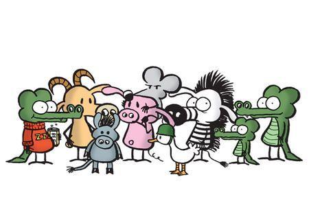 los protagonistas de pearls before swine
