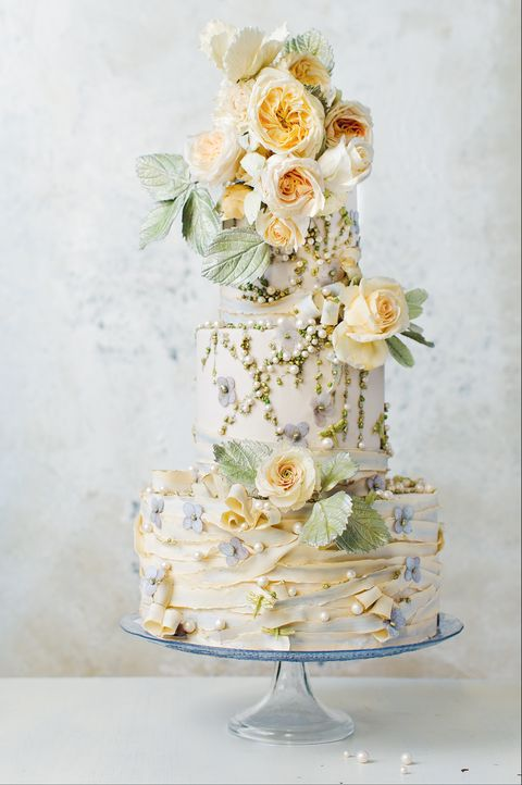 85 Of The Prettiest Floral Wedding Cakes