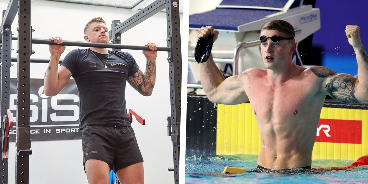 Olympic Swimmer Adam Peaty Shares His Exact Workout and ...