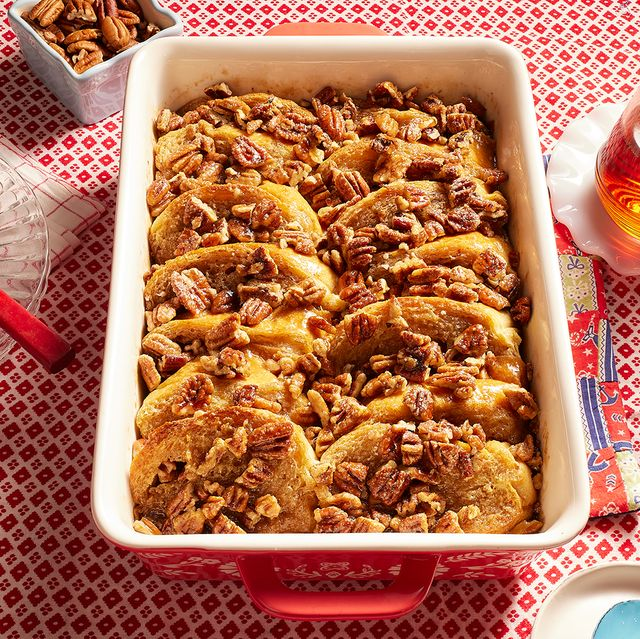 the pioneer woman's pecan pie french toast casserole recipe