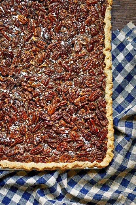 thanksgiving pies pecan slab