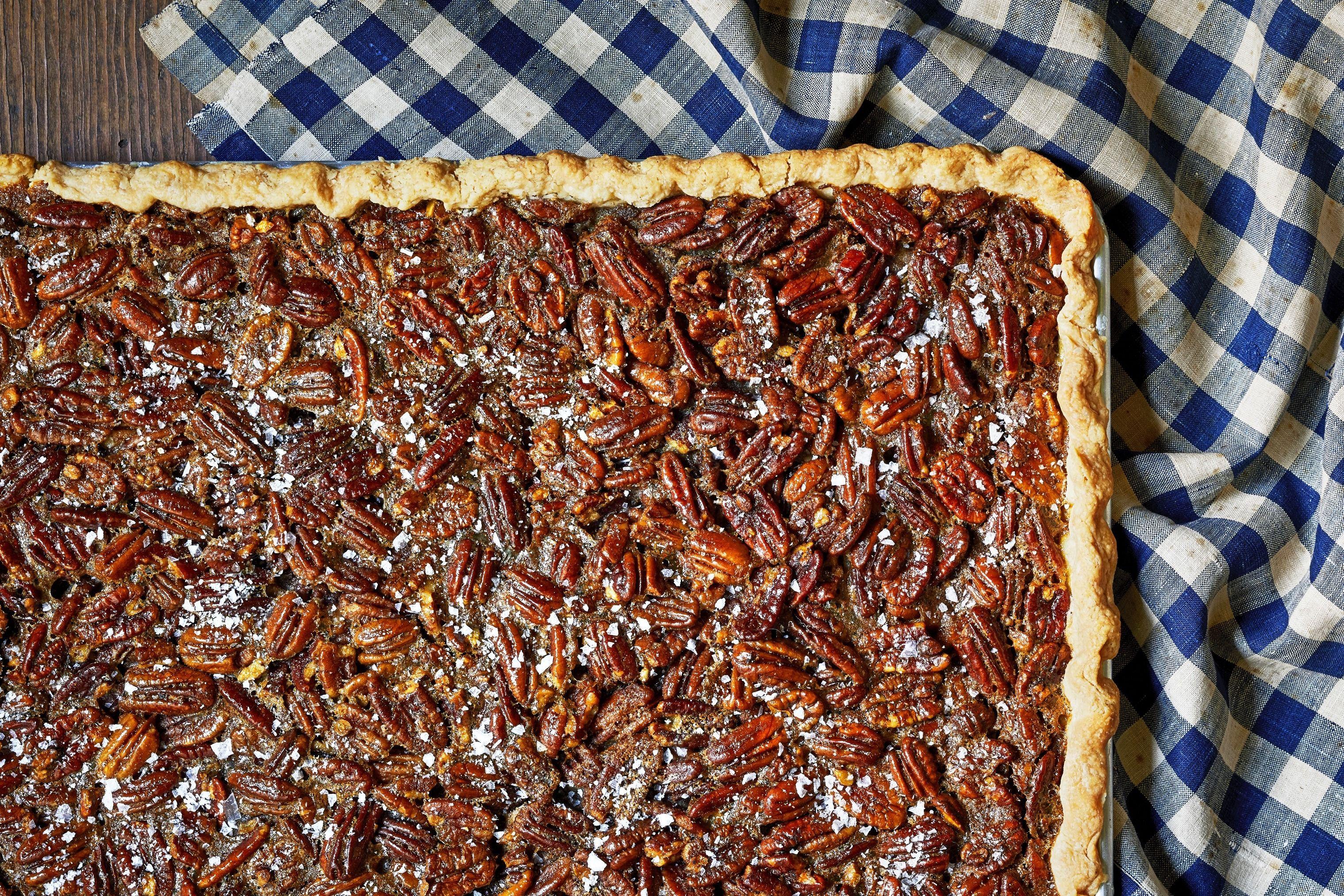 Nancy Fuller's Pecan Slab Pie