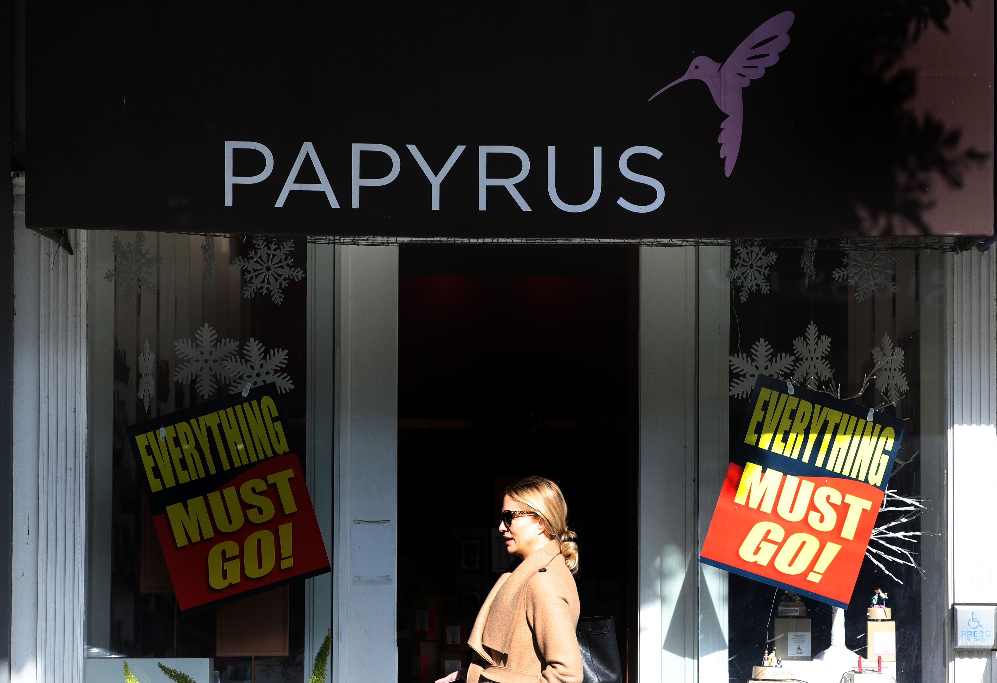 Papyrus Will Close All Stores after Filing for Bankruptcy