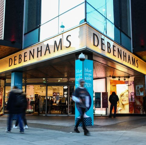 debenhams is set to close, putting 12,000 jobs at risk