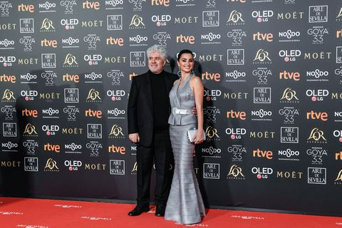 Pedro Almodóvar y Penélope Cruz Premios Goya 2019