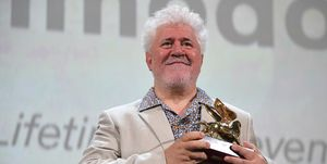 Pedro Almodovar Golden Lion Ceremony - The 76th Venice Film Festival
